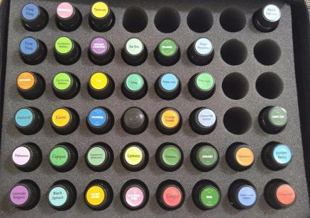 Some of the more than 60 Essential Oils We Carry arranged according to Category of  Main Action