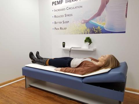 OMI PEMF Treatment Set-up